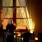 udekorowane okno
